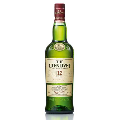 750 ml-Whisky THE GLENLIVET