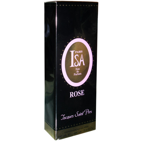 100 ml-Agua de perfume ISA ROSE, Jacques Saint Pres