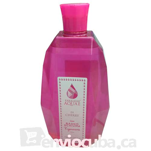 "750 ml-Gel de baño cherry, ""PREZIOSE AQUA E"""